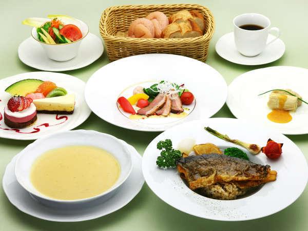 冬のお得なディナープラン〜メイン料理1品のライトコース