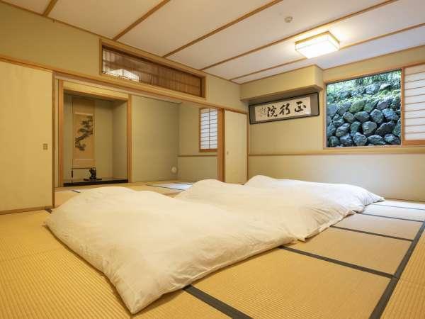 お部屋は全室和室となります。