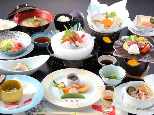 ◆当館人気NO1【旬の和風会席料理】料理長厳選仕入!鮮魚・新鮮野菜を使用◆二十八(ふたば)の湯をご堪能◆
