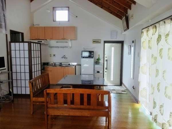 連泊特別プラン。 キッチン付き広々20畳ワンルーム