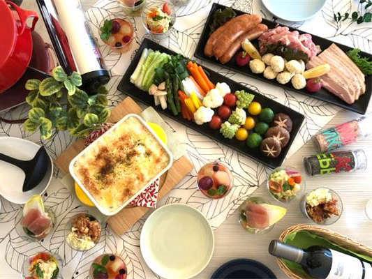ホリデイヴィラ★お部屋で食べるサラdeグラナーベ【夕食】【朝食】
