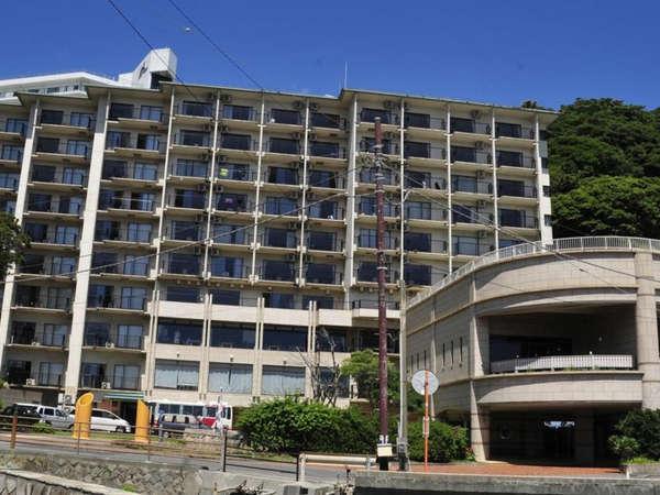 熱川シーサイドホテルの外観