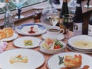 欧風家庭料理のフルコース