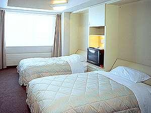 白樺の森3ツインタイプ/定員2名・広さ28.1平米(客室例)