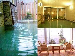 貸切風呂は広々とした空間レイアウト♪※ホテル安比グランド予約はフロントへ(有料)