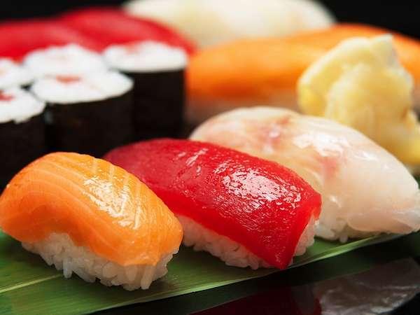 和洋中韓の饗宴ディナーバイキング 握り寿司食べ放題 安比高原温泉ホテル館にて