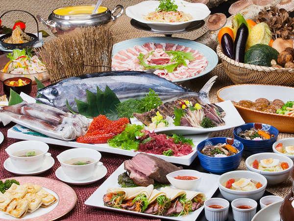 岩手の自然の恵み、肉・魚・野菜が大集合!名店からのお取り寄せも多数。ご満足いただける内容です。