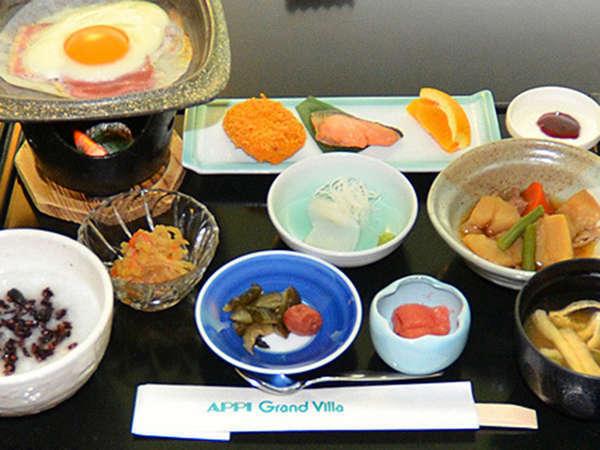 ヴィラ3朝食和食膳のイメージ
