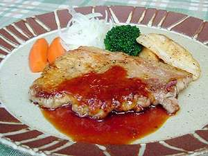 希少なブランド豚「国産地ポーク」をシンプルに生姜焼。