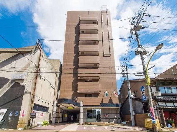 アパホテル<小松>の外観