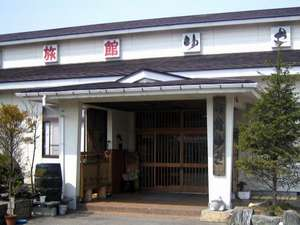 田園地帯にある11室の小さな温泉宿です。