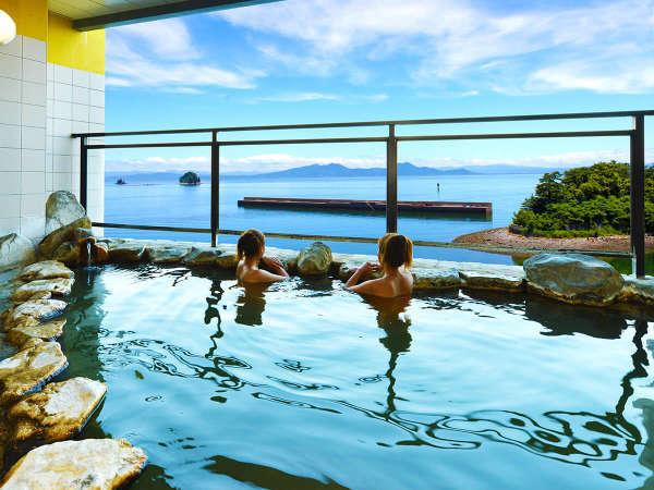 岬の湯 露天風呂