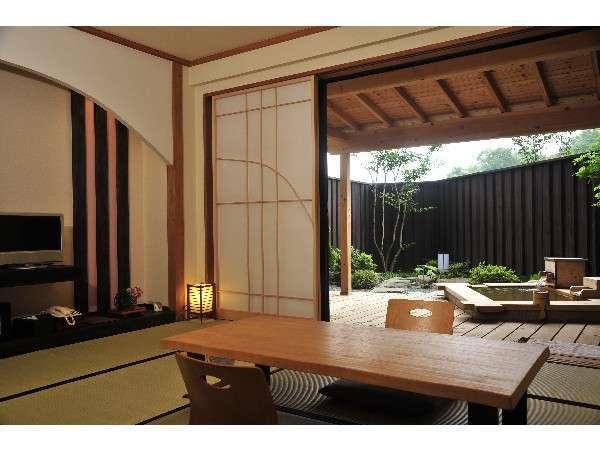 【本館 月の彩り】露天風呂付き客室「櫻」「鶯」 宿泊プラン