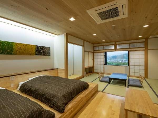 2020年に誕生した【リニューアル和洋室】は広々とした明るいお部屋です