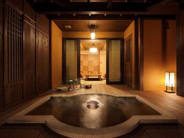 【別亭】雛罌粟(ひなげし)客室露天風呂 写真提供:じゃらんnet