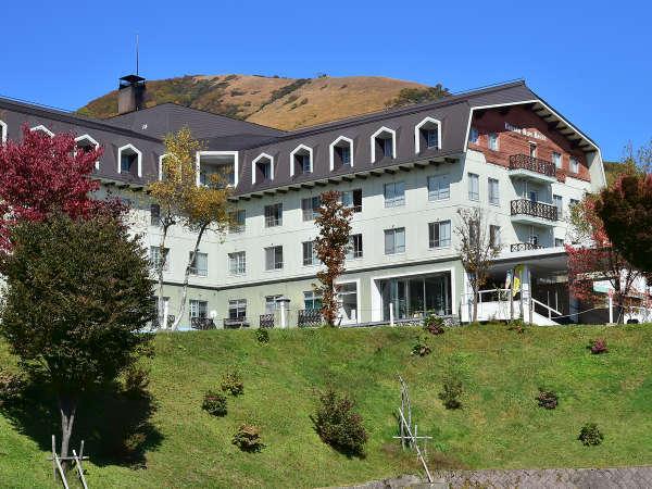 ◎高原に佇む温泉リゾート◎白馬アルプスホテル