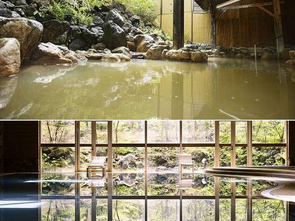 源泉掛け流しの美肌の湯、室内プールとリゾートホテルを満喫