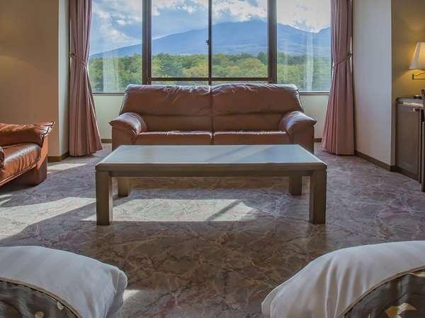 【贅沢リゾート・高層階客室】 浅間山が見える高層階プレミアムルーム&選べる3種のリゾートディナー
