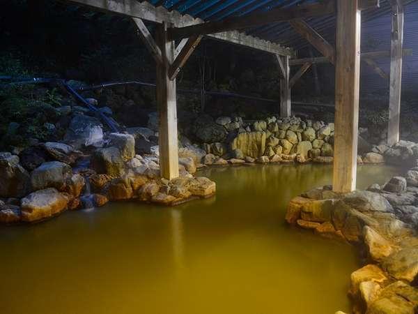 【鬼押温泉】浅間山から湧き出る、源泉掛け流しの『美肌の湯』としても好評。
