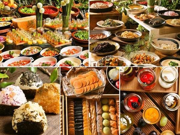 【モーニングブッフェ】感動の朝食をテーマに100品目以上のお料理をご用意しています