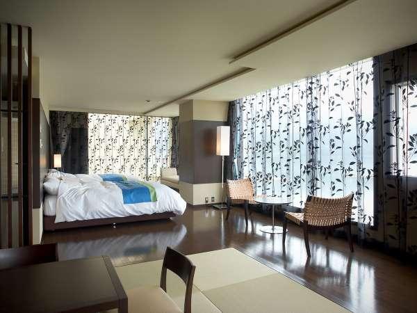 特別プレミア和洋室広さ82平米のゆったり過ぎる空間は、当ホテル最高級のお部屋です。