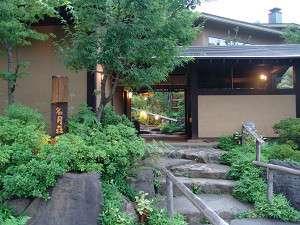 名月荘の外観