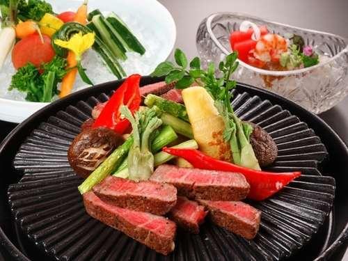 ワンランク上の夕食☆国産牛フィレ肉ステーキ懐石
