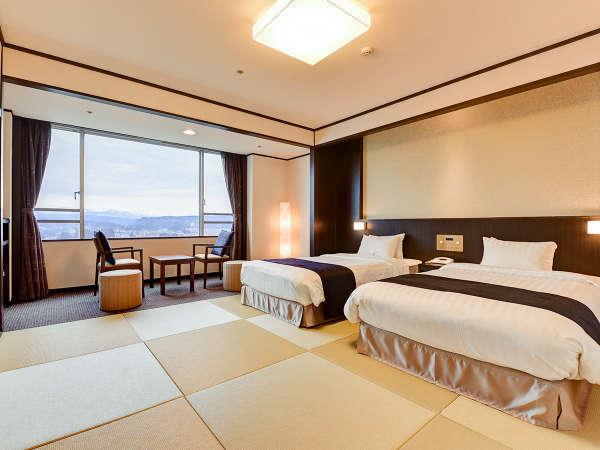 【和室ベッドタイプ】モダンな雰囲気漂う ちょっぴり贅沢な空間