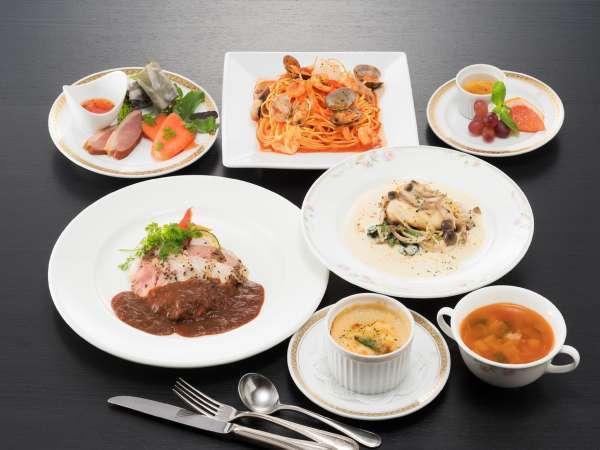 【ホテルで夕食】ゆったり2食付プラン_ちょっと贅沢Ver【朝食は無料】