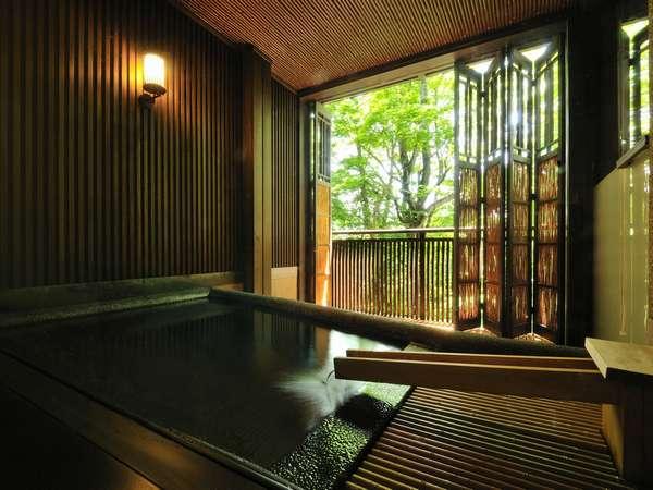 【山水閣の上質】贅沢な露天風呂付客室