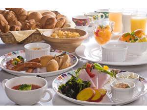 【お得de満腹】欲張り朝食ビュッフェ♪付き