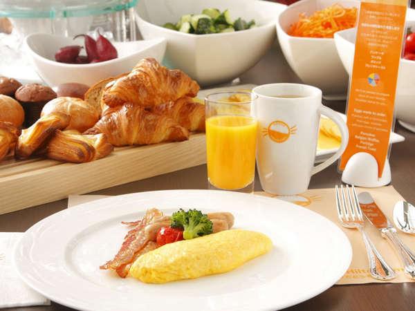自慢の朝食ブッフェは、毎朝出来立て約40種類! 写真提供:じゃらんnet