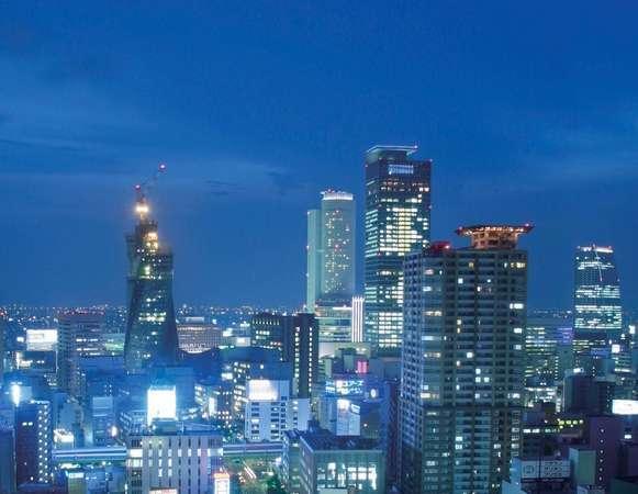 高層階部屋からは名古屋の夜景が一望※写真は名古屋駅側 写真提供:じゃらんnet