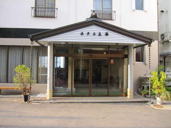 ホテル永楽の外観