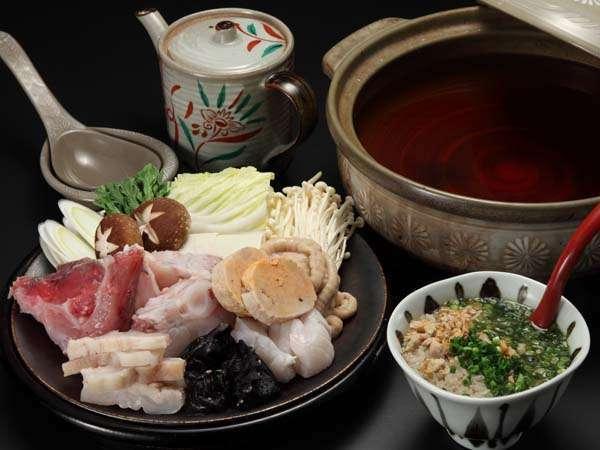 冬の日本海の珍味!アンコウの膳