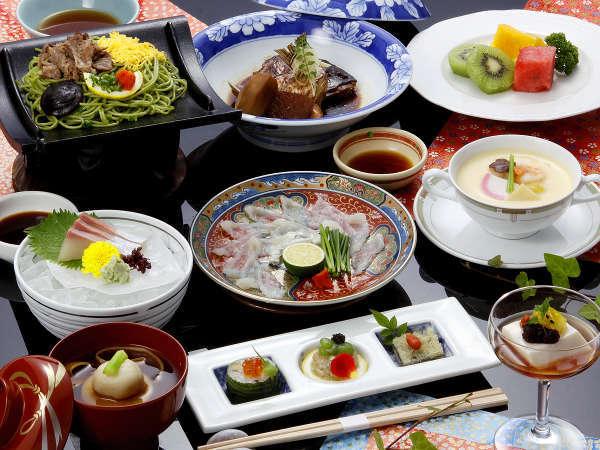 【維新・萩の七彩】お気軽献立で萩満喫。萩の地魚・長州名物「瓦そば」・あら炊きなど旬の七品を食す♪