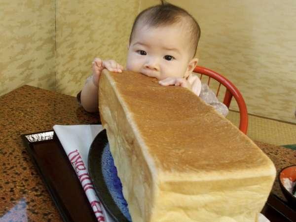 【あの食パン付♪】の温泉デビューベビープラン・お子様歓迎