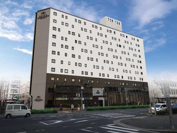 ホテルコンソルトの外観