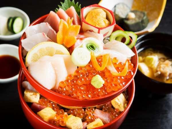 浜処いっぷく「特別海鮮丼」