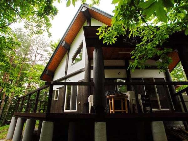 コテージ蒜山の森〜コンセプトログハウスでリラックス!