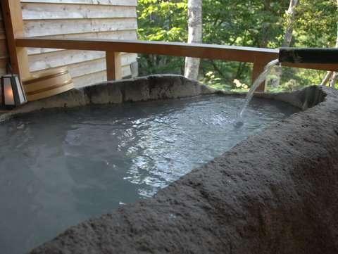 志賀高原 白い温泉 渓谷の湯 関連画像 1枚目 じゃらんnet提供