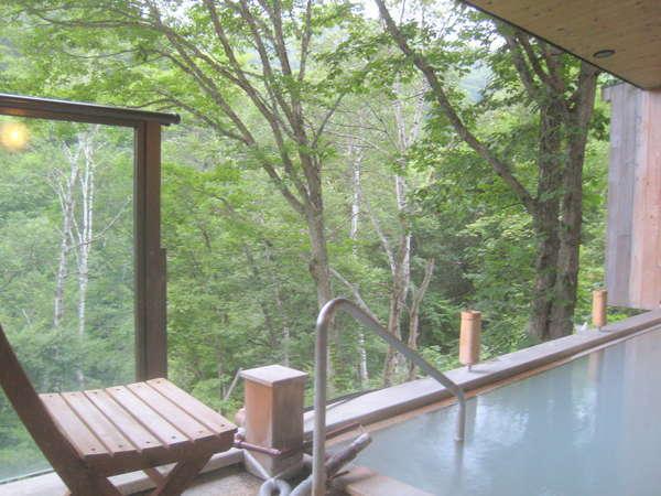 志賀高原 白い温泉 渓谷の湯 関連画像 3枚目 じゃらんnet提供