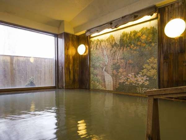 大浴場(檜造り)