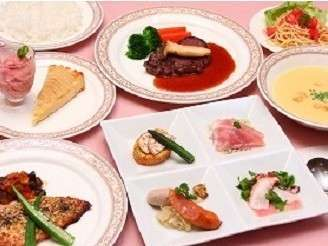 ◇手作りの洋食コース料理(一例)