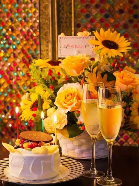 【リゾート☆アニバーサリー】ホテルでお祝い☆サプライズで感激の記念日!サプライズの演出をご協力します