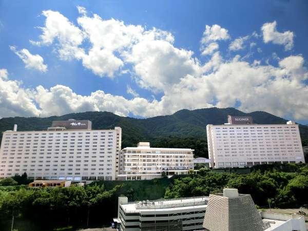 杉乃井ホテル本館の外観