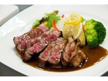 【魚もお肉も両方食べれる♪】ブランド牛【常陸牛】ステーキと地魚船盛りを食べつくすプラン!