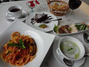 イタリアンディナ-と温泉を楽しめるプラン♪(温泉貸し切りOK)