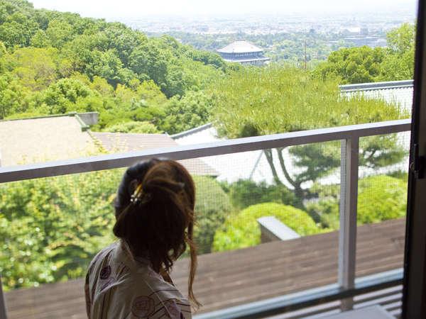 人気につき延長♪【カップル女性半額】眺望確約東大寺を眼下にお部屋食で!