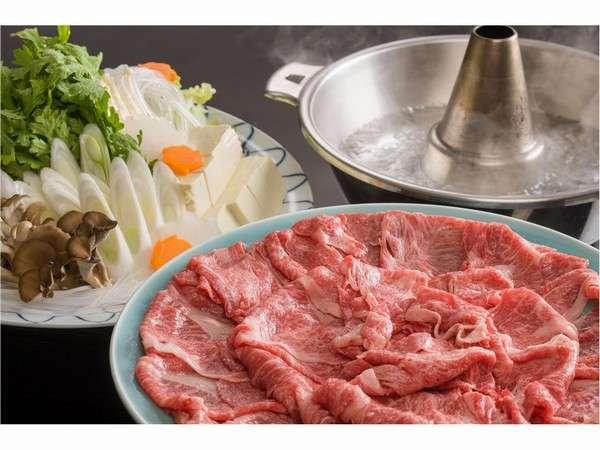 【選べる夕食 鍋料理】 伊賀牛しゃぶしゃぶ or 伊賀牛すき焼き or 柳生鍋から選べるプラン♪♪